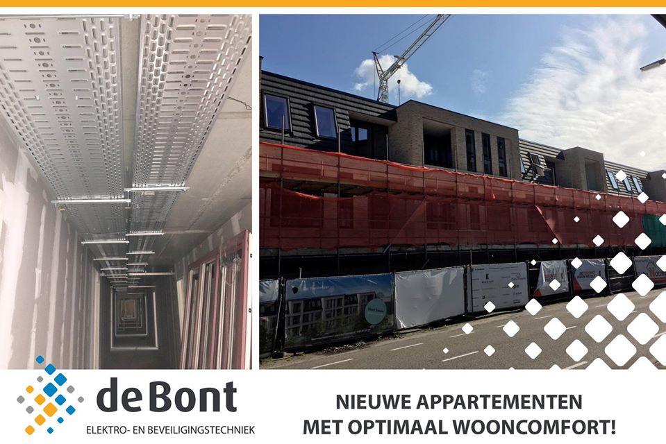 43 nieuwbouw appartementen te Roosendaal